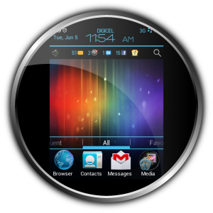 Maestros Android ICS Theme