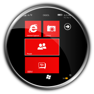 Windows Phone 7 Theme RED